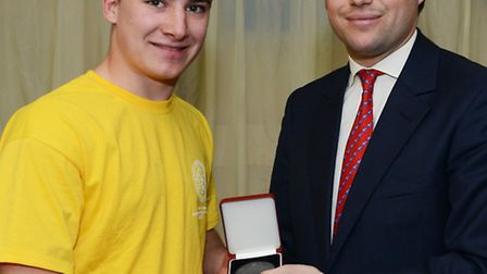 Luke Green, from Wisbech, claimed a bronze medal in the electrical installation competition.