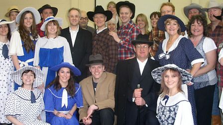 Potters Bar Theatre Company is putting on Crazy for You at the Wyllyotts Theatre