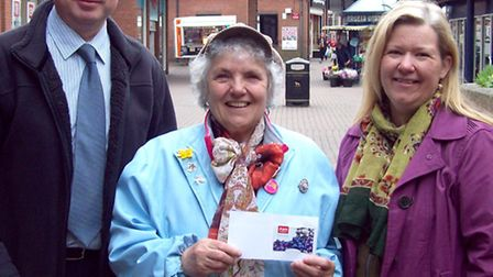 Mary Killingworth, from Wisbech, was the first name drawn out of all the correct entries for solving