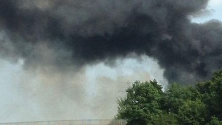 Driver are being warned to be cautious on the M25 due to smoke