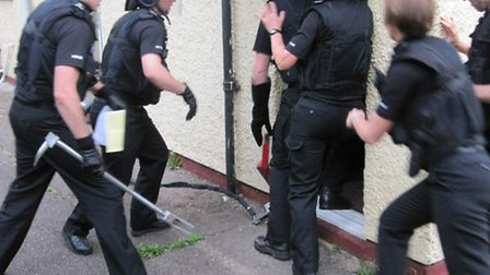 A previous police raid unrelated to the payouts