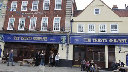 Pub used in The World's End filming in Letchworth