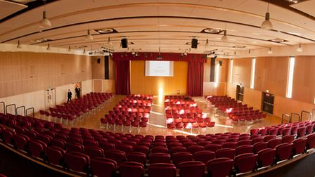 The Act Theatre, at Thomas Clarkson Academy, Wisbech.