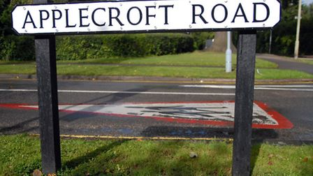 Applecroft Road closed after hole opened up