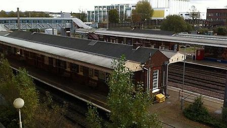 Welwyn Garden City train station