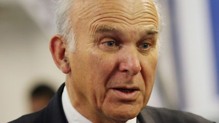 Business secretary Vince Cable visits University of Hertfordshire