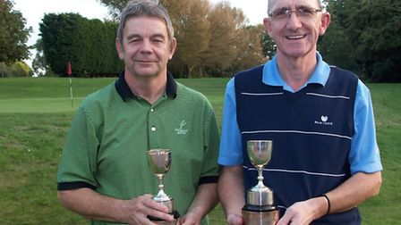 Fenmans Cup winners Gary Jordan and Mike Bell.
