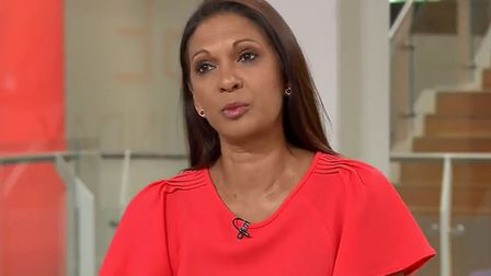 Gina Miller on Sky News. Photograph: Sky.