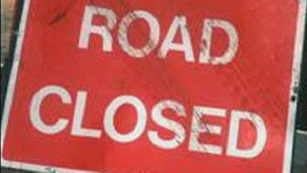 Lower Hatfield Lane has been closed due to water on the road this morning (Monday)