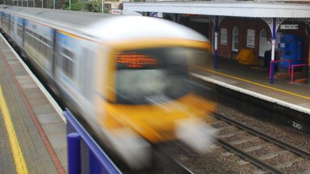 Trains have been affected by the death. Stock Pic