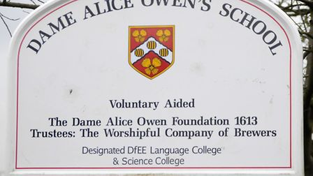 Dame Alice Owens school, Potters Bar