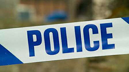 A car overturned near Junction 5 of the A1(M) last night after a two-car collision