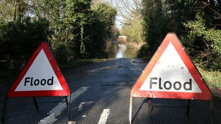 Roads in Herfordshire are still closed due to flooding