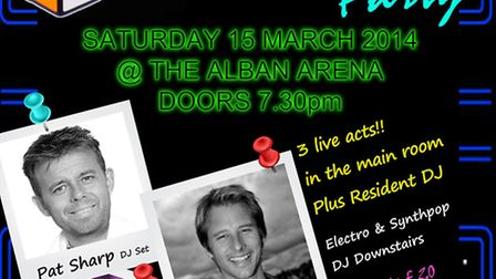 Ultimate 80's at Alban Arena in St Albans