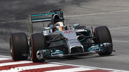 Lewis Hamilton ahead of the 2014 Malaysian Grand Prix [Picture: Mercedes-Benz]