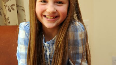Lauren Hobbs 8, who is to appear in the film 'Nativity 3'