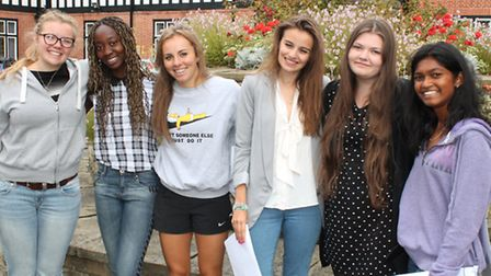 Students from Queenswood School achieved a 100 per cent pass rate