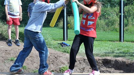 National Play Day was celebrated at Wisbech Adventure Playground.Picture: Steve Williams.