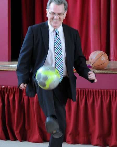 Wisbech Sports Awards 2014 launch at Queen Mary Centre and Frankie & Bennys, Wisbech. Editor John El