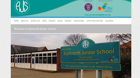New website design for the Elliot Foundation comprising Ramnoth Junior and Nene Infants