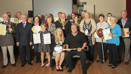 Wisbech in Bloom held their annual garden competition awards evening last week at Wisbech Institute