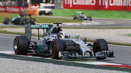 Lewis Hamilton on his way to victory in the 2014 Italian Grand Prix at Monza [Picture: Mercedes-Benz