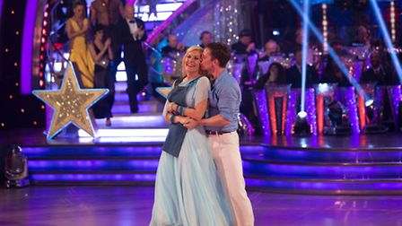 Jennifer Gibney and Tristan MacManus dance their final dance [Picture: BBC / Guy Levy]