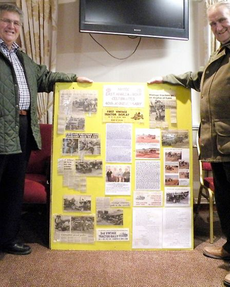 The National Vintage Tractor and Engine Club East Anglia Group Donate Over £18,600.00 to Local Chari