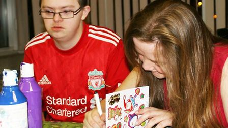 There will be card making at the holiday camp.