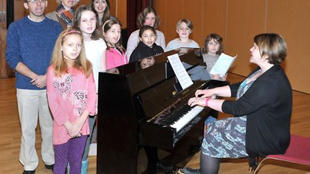 Saturday Music School at theThomas Clarkson Academy, Wisbech. Picture: Steve Williams.