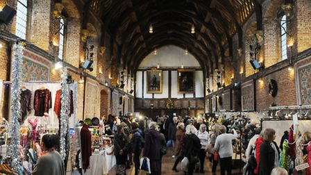 Hatfield House Christmas Frost Fair in The Old Palace