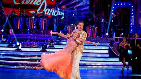 Judy Murray and Anton Du Beke take their final dance [Picture: BBC/Guy Levy]