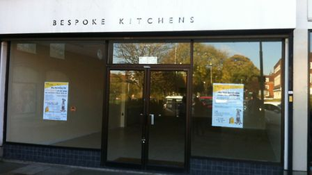 The former Bespoke Kitchens store in WGC