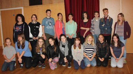 Thomas Clarkson Academy pupils at a Shakespeare for Students event