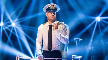 Jake Wood on Strictly [Picture: BBC / Guy Levy]