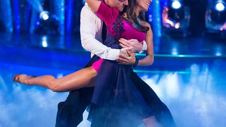 Jake Wood and Janette Manrara [Picture: BBC / Guy Levy]