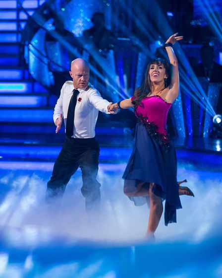 Jake Wood and Janette Manrara's rumba [Picture: BBC / Guy Levy]
