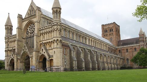 St Albans Abbey Cathedral