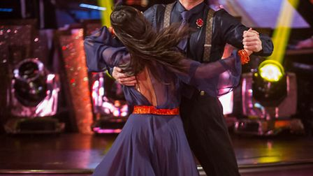 Janette Manrara and Jake Wood [Picture: BBC / Guy Levy]