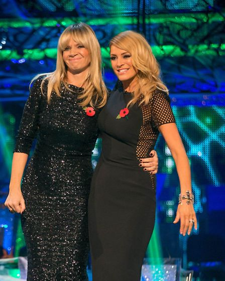 Zoe Ball and Tess Daly presenting Strictly Come Dancing [Picture: BBC / Guy Levy]