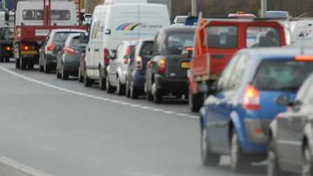 Motorist face 'long delays' in Hatfield