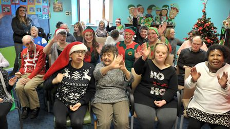 New Beginnings day care centre christmas of activities. Wisbech. Picture: Steve Williams.