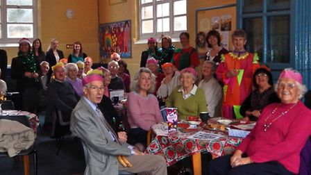 Alzheimer's Society Christmas party at Wisbech