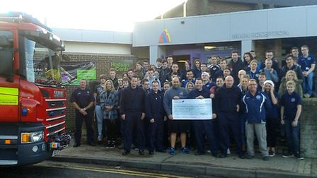 Uniformed Services Charity event in Support of the Fire and Rescue Services