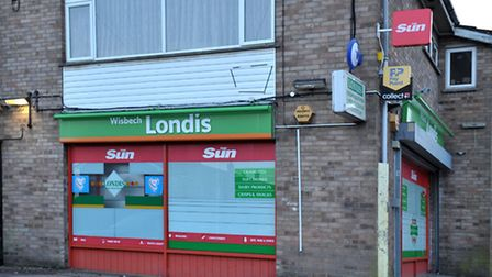 Tinkers Drove, Londis store, Wisbech