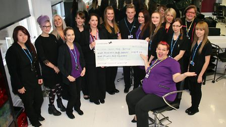 College of West Anglia students raised more than £900 for Feel Good, Look Better.