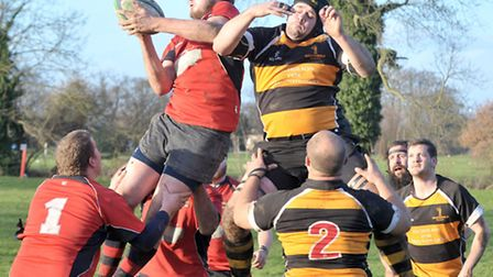 Wisbech Rugby v Southwold.Picture: Steve Williams.