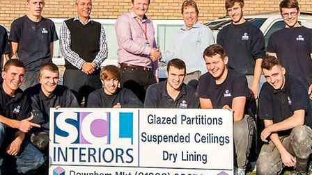 Students are reaping the benefits of the college's SCL Interiors partnership.