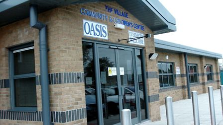 The Oasis Centre in Wisbech.