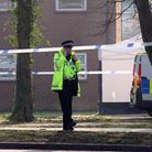 Police on Broadwater Road